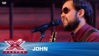 John synger 'Hello' – Lionel Richie  (5 Chair Challenge)   X Factor 2020   TV 2