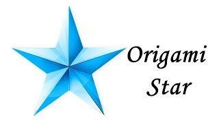 DIY - How to make an Origami Star
