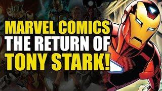 The Return of Iron Man Tony Stark! (Invincible Iron Man: Hunt For Tony Stark Part 2)