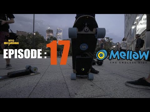 The NYC Electric Skateboard Crew - Episode 17: Hello Mellow Board