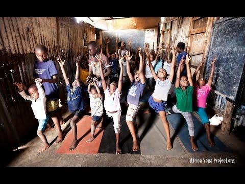 Africa Yoga Project Sponsor Actie