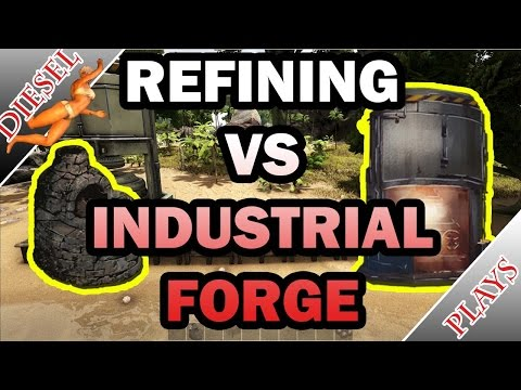 ARK HAPPENED - REFINING VS INDUSTRIAL FORGE!