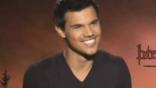 Taylor Lautner Junket Interview: Breaking Dawn Part 1