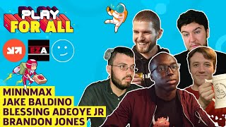 Game Case Trivia With MinnMax, Blessing Adeoye Jr, Jake Baldino, Brandon Jones |  Play For All