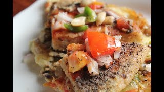 ওটের পিজ্জা | টিফিন, ব্রেকফাস্ট  বা লাঞ্চ এ খান । Oat Omelette Pizza | Healthy & Tasty