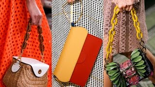 видео Сумочная мода сезона весна-лето 2014