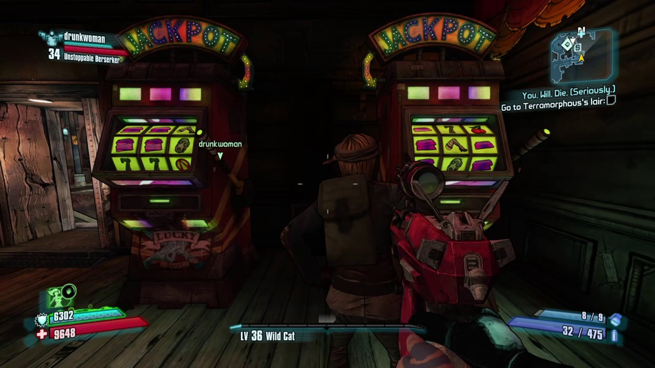Borderlands 2 slot machine vault symbol