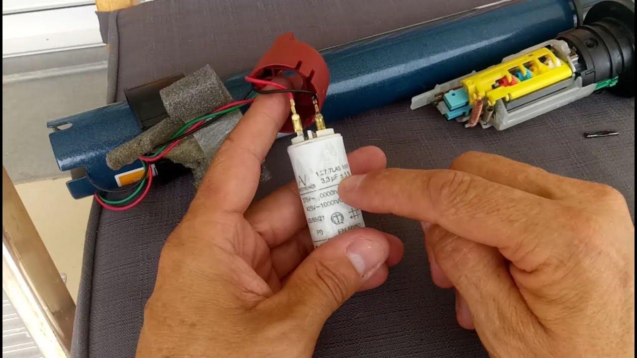 Comment Remplacer Le Condensateur D Un Volet Roulant Electrique Tuto Depannage Resolu Youtube