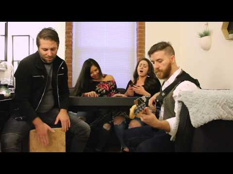 Burn With Me, performed by Apollo Sonders. The Jersey City-based band recently tried out for a chance to perform in the PATH system.
