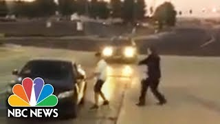 Suspect Chase and Beat Sheriff's Deputy After Being Tased Is Caught On Camera
