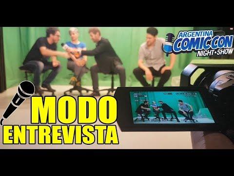 MODO ENTREVISTA Argentina Comic Con Nigth Show en VORTERIX
