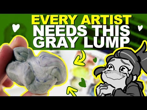 The BEST CHEAP ERASER that you NEED! | Srsly I love this thing. | DrawingWiffWaffles