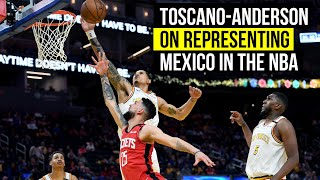 Warriors Juan Toscano-Anderson on raising bar for Mexican-American players