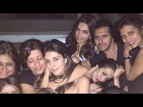 Bollywood Celebs Partying in Late Night In A Club