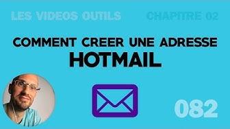 Créer une adresse email Hotmail