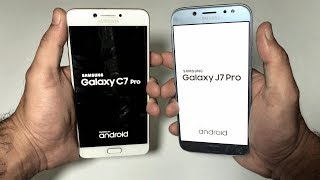 Samsung Galaxy J7 Pro (2017) Vs C7 Pro (2017) Speed Test (4k)