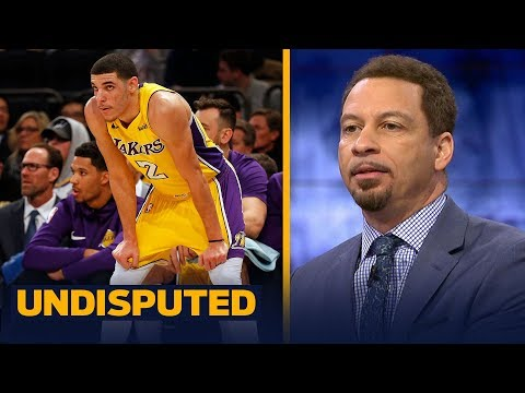 Chris Broussard on Lonzo and LaVar Ball after the Lakers loss in New York   UNDISPUTED