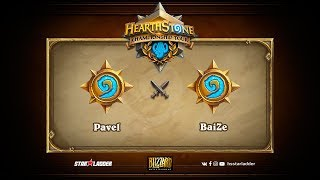 Pavel vs BaiZe, Hearthstone Championship Tour Summer 2017