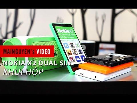 Khui hộp điện thoại Nokia X2 Dual Sim - www.mainguyen.vn
