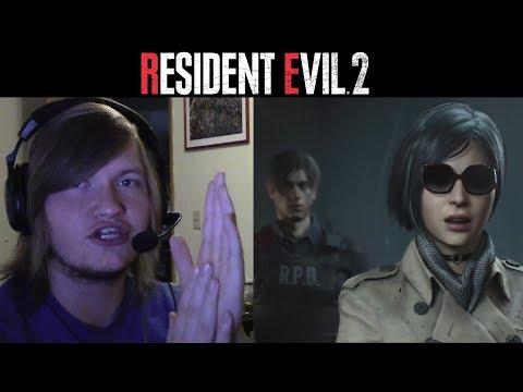 Resident Evil 2 Remake | Story Trailer Reaction