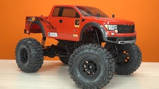 Тест-Драйв Hpi Crawler King (Ford F-150 Svt Raptor) ... Против Axial Scx10 2
