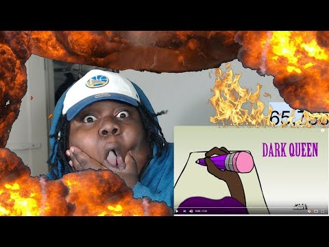 THE BEST SONG ON LUV IS RAGE 2! Lil Uzi Vert - Dark Queen [Official Visualizer] REACTION!!!