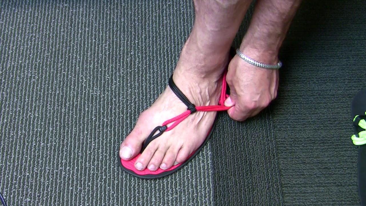 1263b7c00771 Thong and Huarache Sandals - Fitting Xero Shoes - YouTube