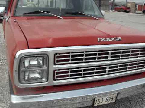 1979 Dodge Lil Red Express Truck 4 Sale Autos Post