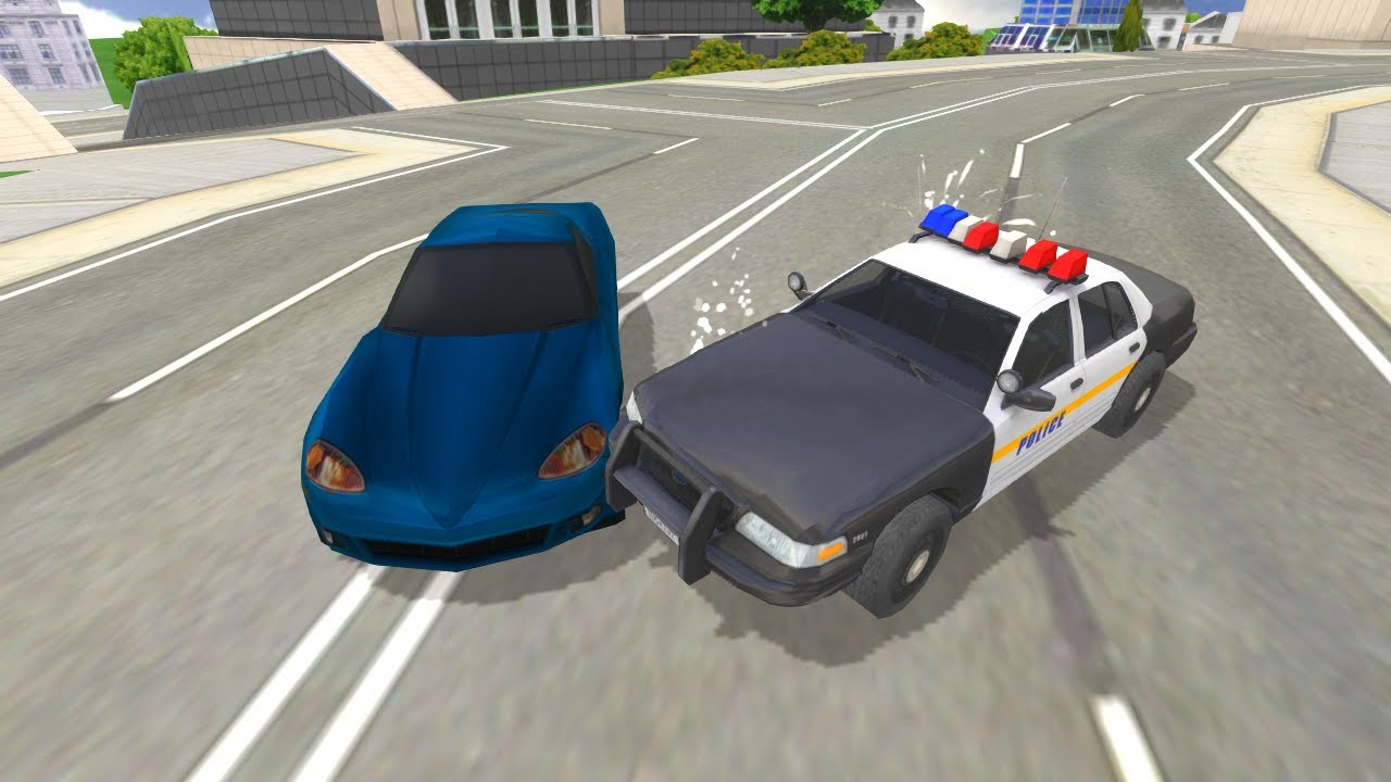 Police Car Crazy Driver Game Launch Trailer