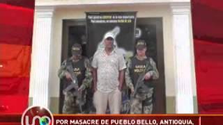Por masacre en Pueblo Bello, Antioquia, capturan a dos paramilitares