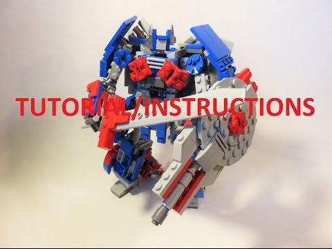 tutorial instructions lego transformers age of extinction optimus rh youtube com Transformers Instruction Manual Transformer Manual Bug