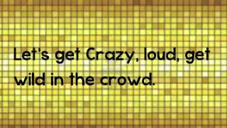 redfoo lets get ridicules lyrics on screen