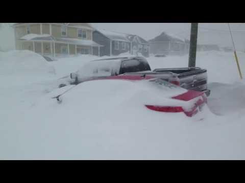 PEI Winter 2015, Heaviest Winter On Record, Charlottetown Prince Edward Island Real Estate