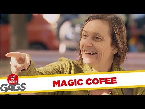 Levitating Cofee Prank