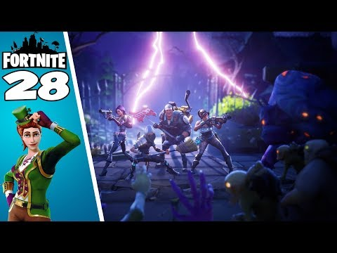 Fortnite ! J'ai Enfin Sarah + Grosse Défense de Base 💕 ! Fortnite Sauver le monde ! #28