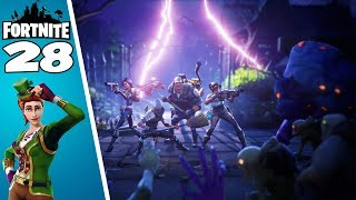 Fortnite! Big Base Defense 💕! Fortnite Save the World! #28