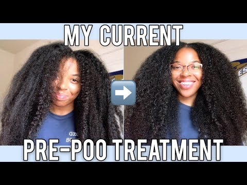 HOW I PRE-POO MY HAIR WITH OLIVE OIL! | ReggaeInspired