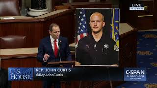 Rep. Curtis Honors Officer Shinners