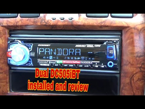 Dual DC505iBT CD Player/ Bluetooth Installed And Review