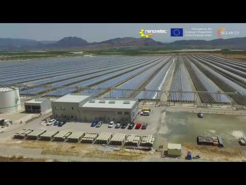 SOLAR CV UNIT 2.4 EXAMPLE OF A LINEAR FRESNEL CSP PLANT