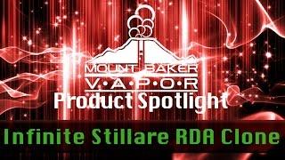 vapor product spotlight infinite stillare rebuildable dripping atomizer rda