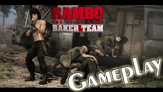 RAMBO® THE VIDEO GAME: Baker Team (HD) PC Gameplay