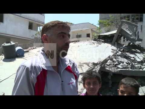MIDEAST: WHAT'S LEFT OF GAZA AS RESIDENTS RETURN