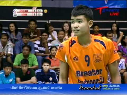 2011 Sepak Takraw Thailand League / Loei Vs Ratchasima- set 3