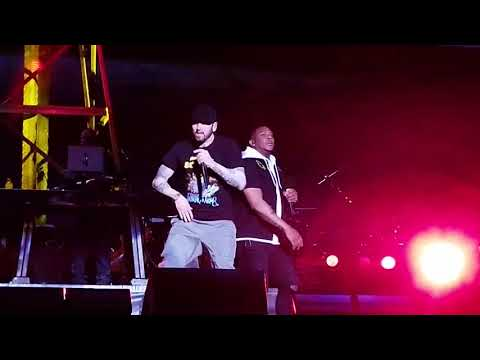 Eminem brings out PHresher for Chloraseptic (Remix) in NYC (Full, Best Quality, 2018)