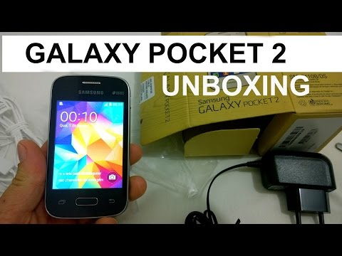 Galaxy Pocket 2 Duos - O Que Vem na Caixa? [Unboxing Brasil]