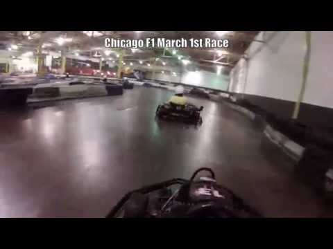Chicago f1 march karting