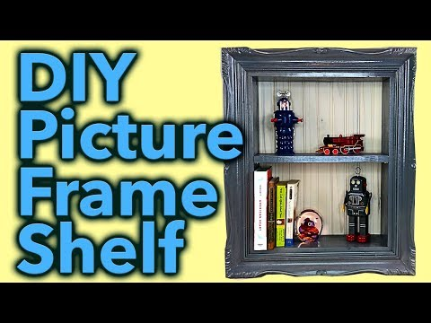 Picture Frame Shelf - DIY Project