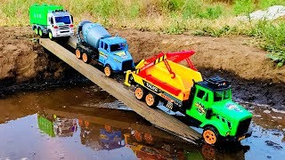 carros-camiones-y-gr-as-para-ni-os-rescate-de-coches-que-chocan-y-caen-al-agua-videos-para-ni-os