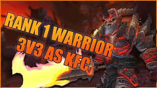 Rank 1 Warrior 3v3 as KFC w/ Ssds & Garbagepally (2700+ MMR) - WoW BFA 8.3 Season 4 PvP